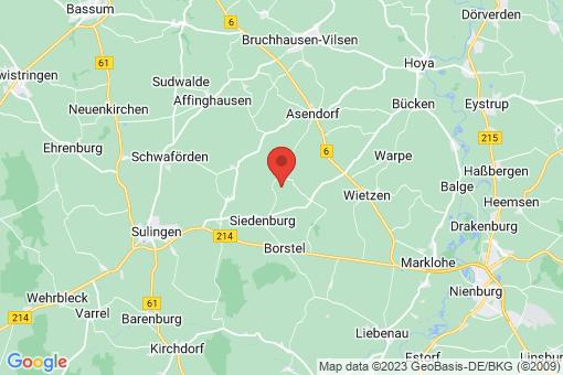 Karte Staffhorst