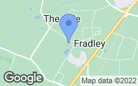 Map of Lichfield, Staffordshire