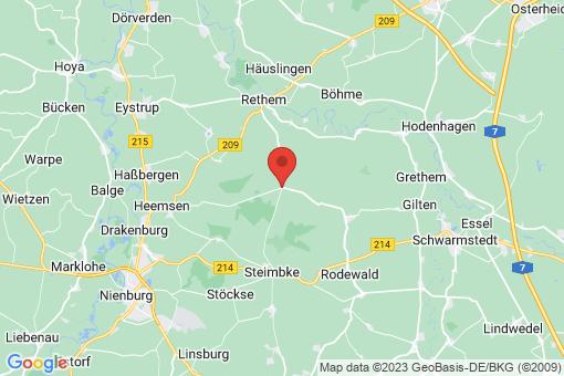 Karte Steimbke Lichtenhorst
