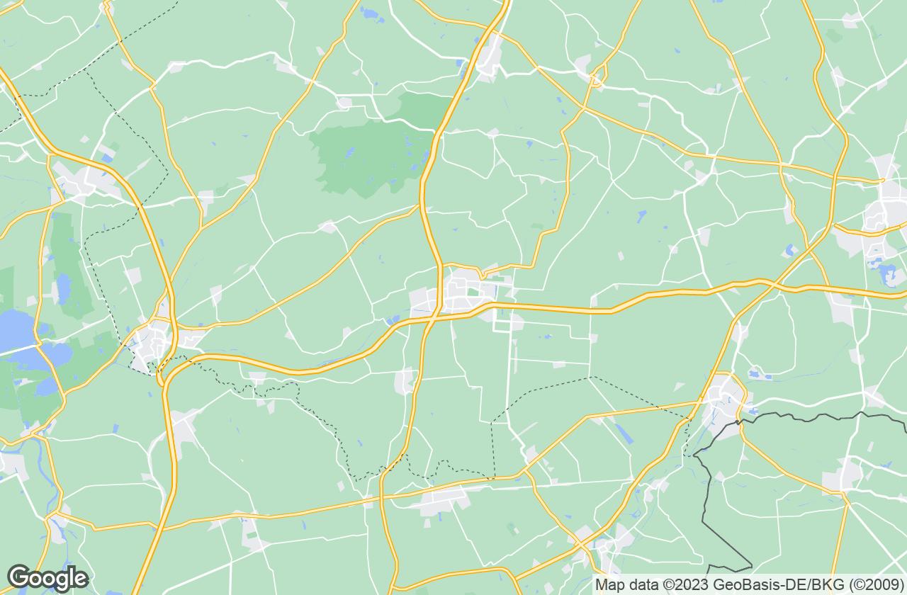 Google Map of Hoogeveen