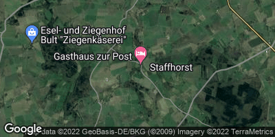 Google Map of Staffhorst