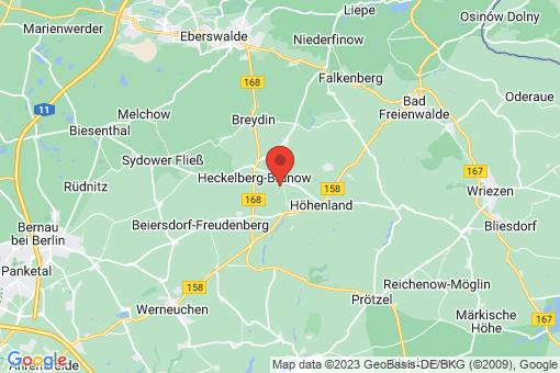 Karte Höhenland Leuenberg