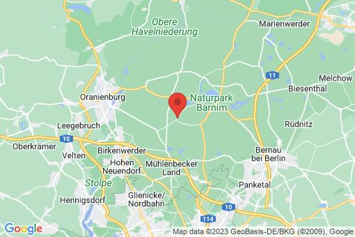 Karte Zühlsdorf