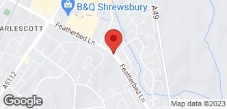 B&Q Mini Warehouse Shrewsbury location