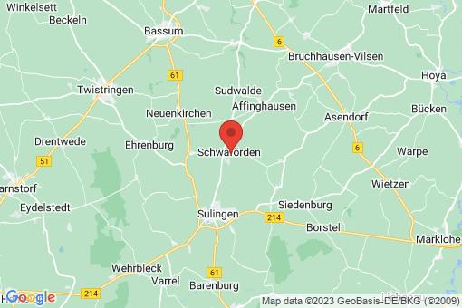 Karte Schwaförden