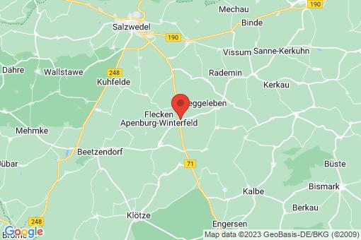 Karte Winterfeld