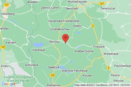 Karte Gollenberg