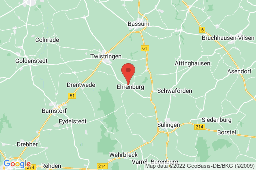 Karte Ehrenburg
