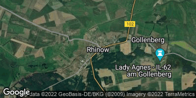Google Map of Rhinow
