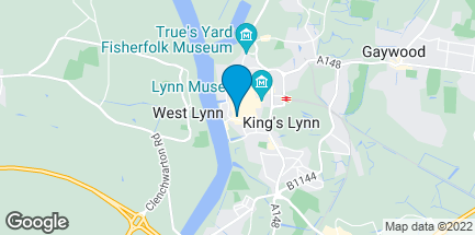 Map of 102 High Street in King's Lynn