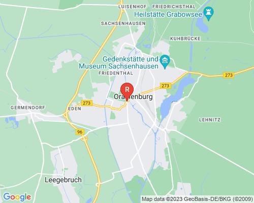 Google Karte von Rohrreinigung Oranienburg