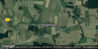 Google Map of Jeggeleben