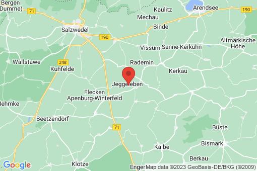 Karte Jeggeleben
