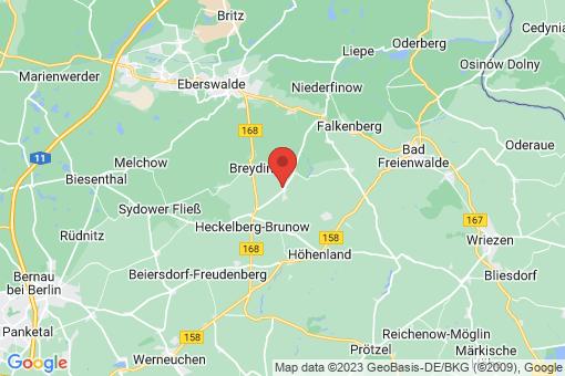 Karte Höhenland Steinbeck
