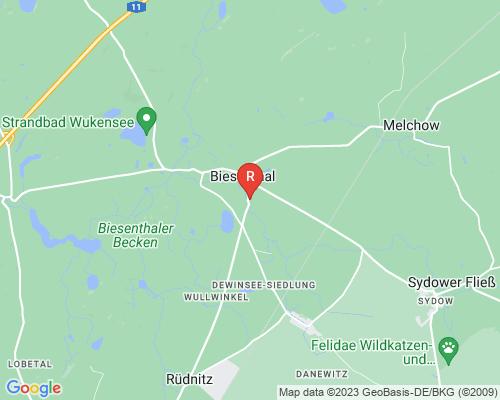 Google Karte von Rohrreinigung Biesenthal