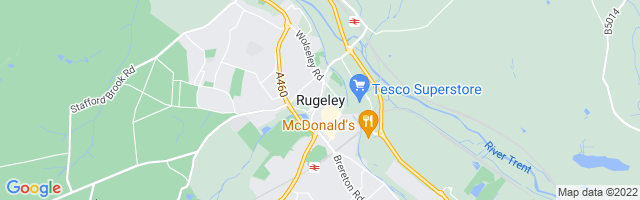 Map Of Rugeley