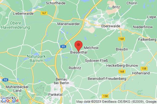 Karte Biesenthal