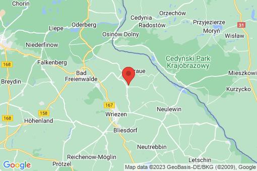 Karte Oderaue Altreetz