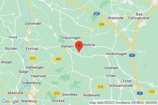 Karte Frankenfeld
