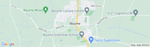 Map Of Bourne