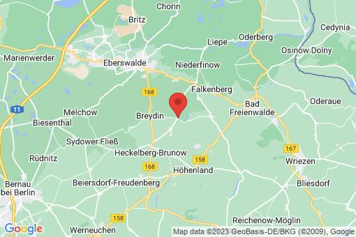 Karte Falkenberg Kruge/Gersdorf, Gersdorf