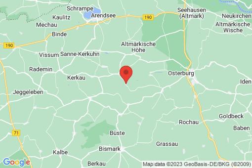 Karte Gladigau