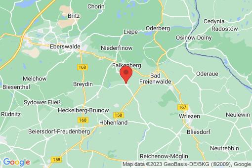 Karte Falkenberg Dannenberg/Mark