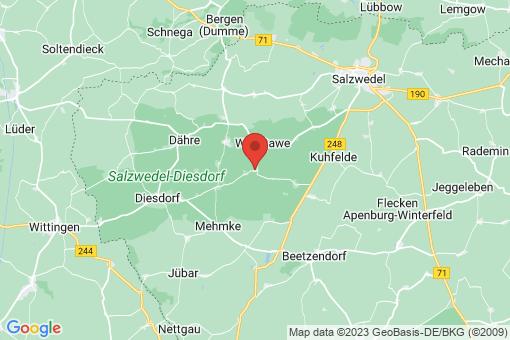 Karte Gieseritz