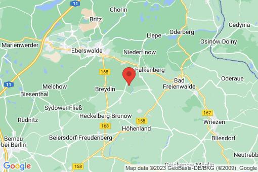 Karte Höhenland Wölsickendorf-Wollenberg