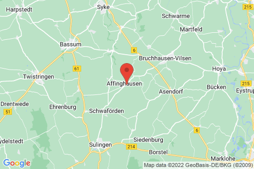 Karte Affinghausen
