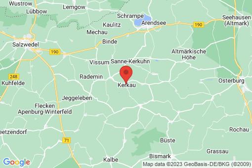 Karte Kerkau