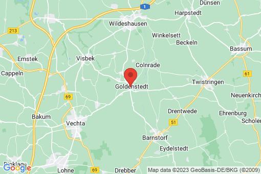 Karte Goldenstedt