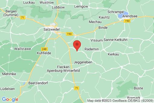 Karte Benkendorf