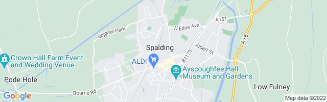 Map Of Spalding