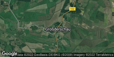 Google Map of Großderschau