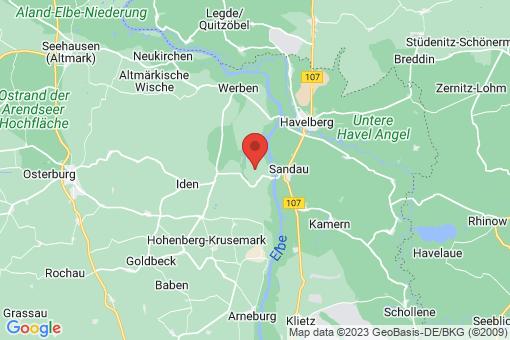 Karte Sandauerholz