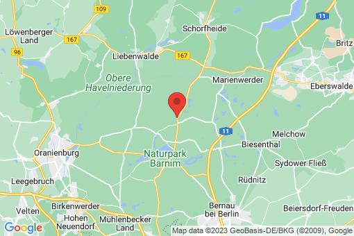 Karte Klosterfelde