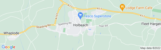 Map Of Holbeach