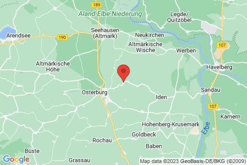 Karte Meseberg