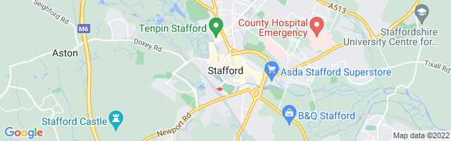 Map Of Stafford