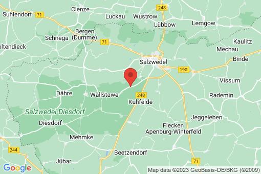 Karte Wieblitz-Eversdorf