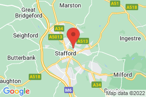Midlands Partnership NHS Foundation Trust - Stafford Site Library & Knowledge Services on the map