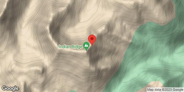 Indian Ridge large avalanche