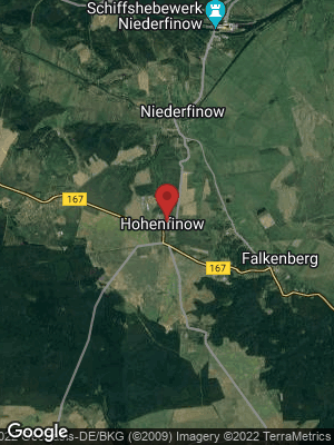 Google Map of Hohenfinow