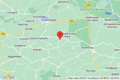 Karte Kossebau