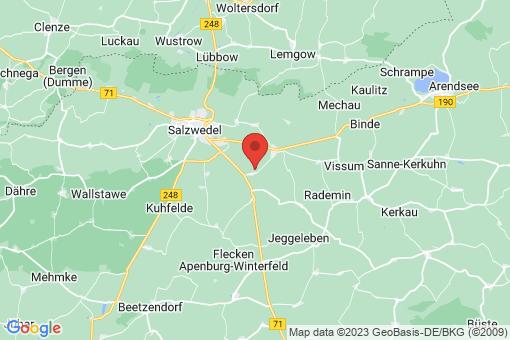 Karte Salzwedel Stappenbeck