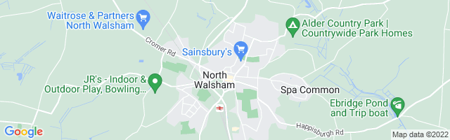 Map Of North Walsham