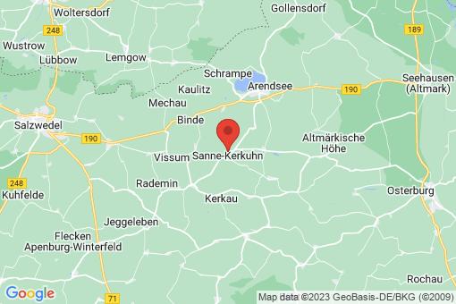 Karte Sanne-Kerkuhn