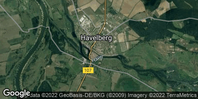 Google Map of Havelberg