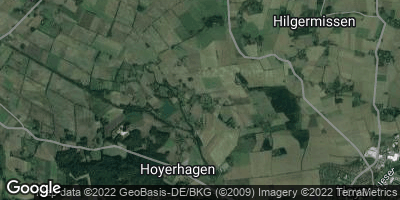 Google Map of Hoyerhagen
